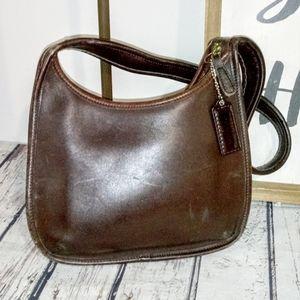 Vintage Coach Brown Legacy Ergo Shoulder Bag